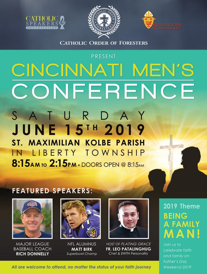 Cincinnati Men's Conference 2019