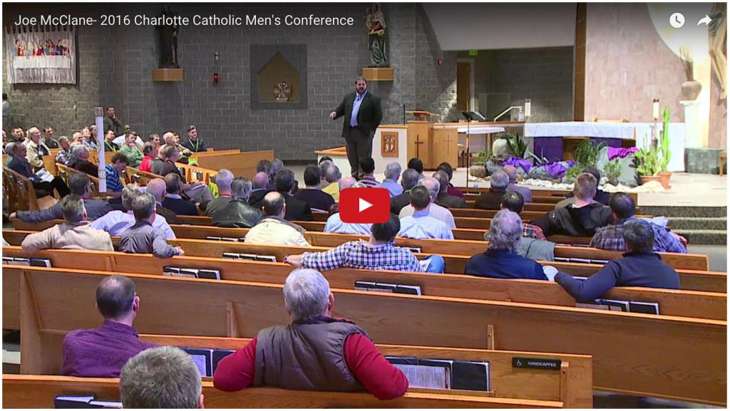 Joe McClane - Evangelist, Men's Issues, Pornography Catholic Speaker