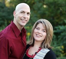 Deacon Joel Schmidt and Lisa Schmidt