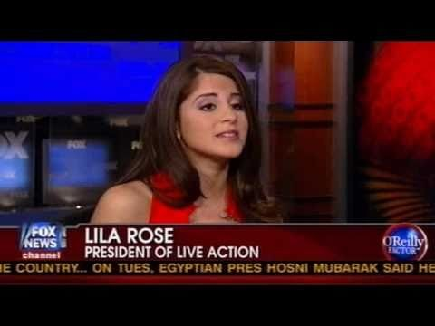 O'Reilly Factor: Lila Rose Discusses Planned Parenthood Cover of Underage Sex Ring